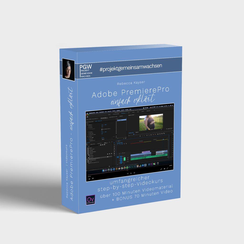 MockupRebecca Kayser Adobe PremierePro für Projekt Gemeinsamwachsen