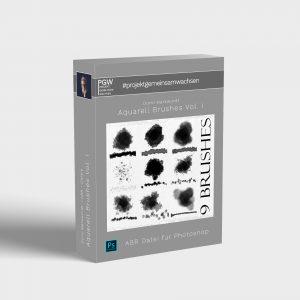Domi Markwordt Auarell Brushes für Projekt gemeinsamwachsen