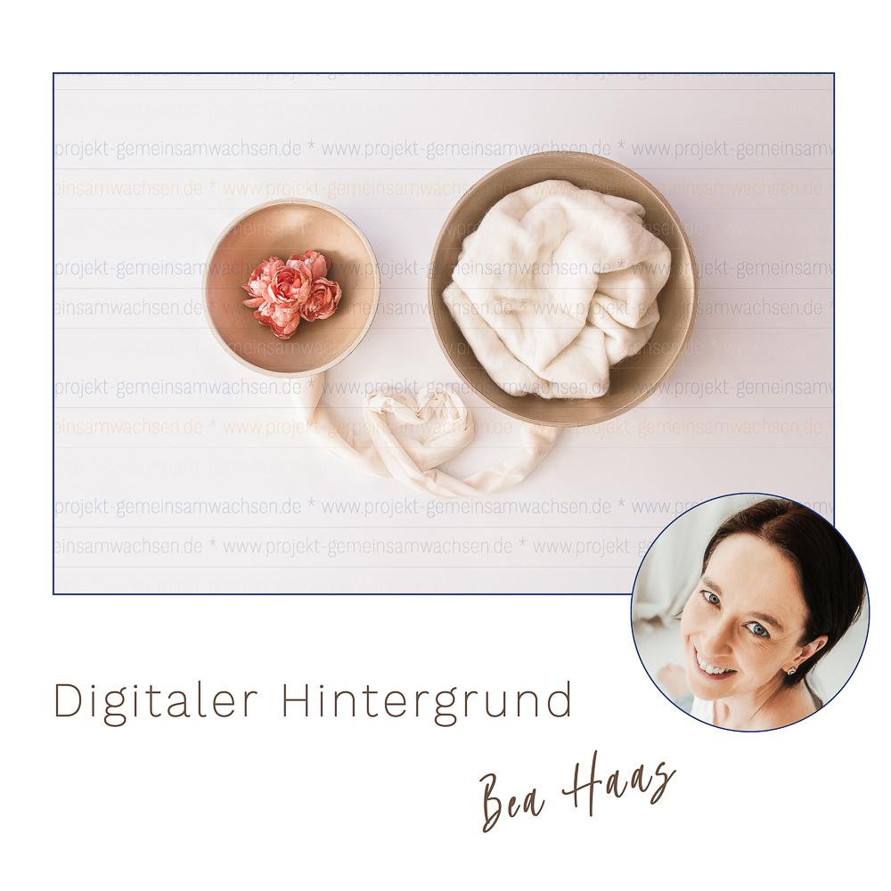 Digitaler Hintergrund by Bea Haas für Projekt Gemeinsamwachsen