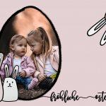 Patchwork Osterkarte by Domi Markwordt für Projekt Gemeinsamwachsen